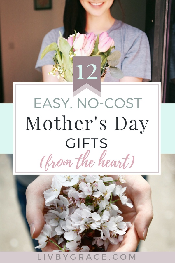 Mom's are our treasures. They mean more to us than we can ever express, because they're simply priceless. But that doesn't mean showing how much they mean to us has to break the bank. Here are 12 no-cost Mother's Day gift ideas that are straight from the heart. Trust me, your mama will feel the love.
