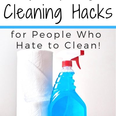 4 Spring Cleaning Hacks for People Who Hate to Clean
