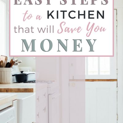 5 Steps to a Kitchen That will Save You Money