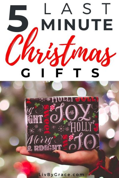 5 Last-Minute Frugal Christmas Gifts (with FREE gift tags)