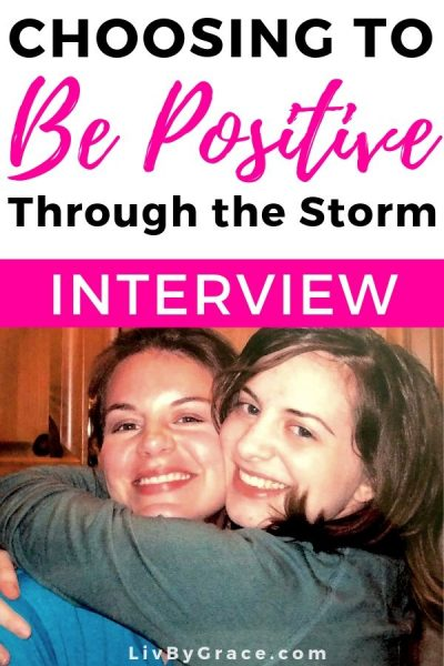 Choosing to Be Positive Through Life's Biggest Storms | positivity | redemption | loss | grief | encouragement | interview | freebie | free art print | be positive | mindset | story | testimony | #positivity #bepositive #positive #redemption #grief #sorrow #encouragement #testimony #story #interview #mindset #freebie #freeprintable #artprint