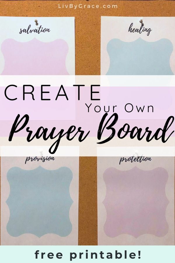 Create a Quick and Easy Prayer Board | prayer board | DIY prayer board | easy prayer board | prayer life | faithful prayer | prayer reminder | #prayer #prayerboard #DIY #faith #easyDIY