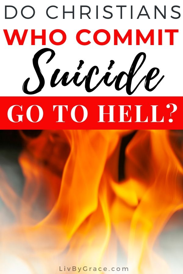 Do Christians Who Commit Suicide Go to Hell? | suicide | Christian suicide | hell | hard questions | hot topics | life after death | #Christianity #death #suicide #afterlife #hell #ChristianSuicide