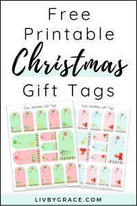 Easy Printable Christmas Gift Tags | gift tags | Christmas gift tags | printable | Christmas printable | printable gift tags #Christmas #Christmasgifttags #gifttags #easyChristmasideas #printable #freedownload
