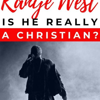 What's up with Kanye? Is he really a Christian?